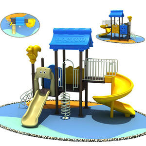 Educational good quality cheap outdoor kids slides equipment company