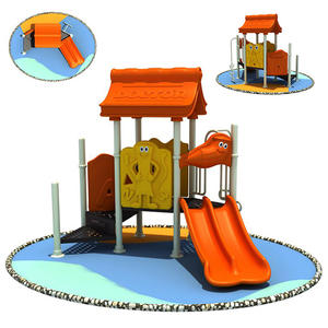 Educational good quality plastic playground slides company