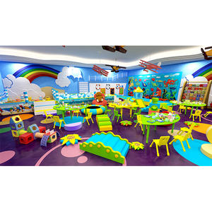 Customized professional perschool play area indoor playground equipment