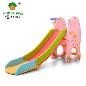 Plastic Strong Safe Classic Indoor Kids Plastic Slide For Family Use