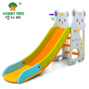 Bear Theme Children Kids Plastic Slide Set With High Quality