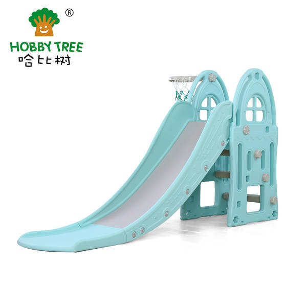 Castle theme wholesale cheap children indoor plastic slide