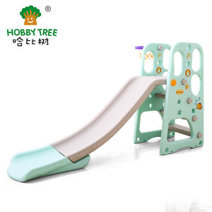 Classic Theme Wholesale Cheap Plastic Kids Indoor Slide Set