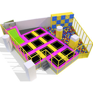 Custpmized good quality indoor trampoline facility factory