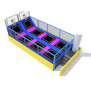 Custpmized good quality indoor trampoline wholesale equipment factory