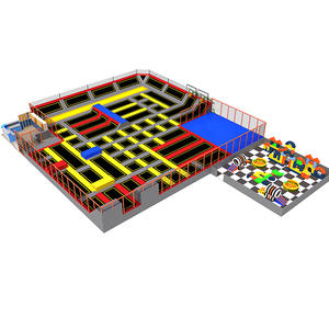 Customized good quality huge trampoline park equipment factory