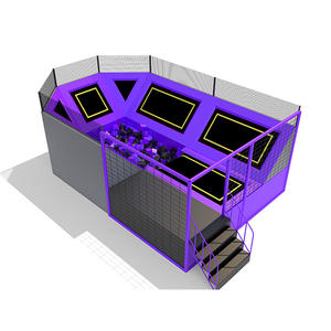 Custpmized good quality trampoline park indoor equipment factory