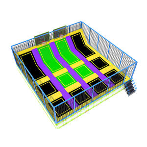 Custpmized good quality indoor kids trampoline park equipment factory