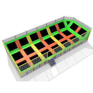 Custpmized good quality indoor trampoline park for kids equipment factory