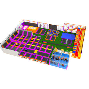 Custpmized good quality kids indoor trampoline park equipment factory