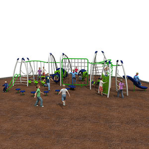 Customized good quality children outdoor fitness equipment factory
