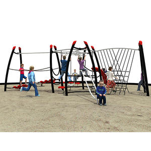 Customized good quality children fitness outdoor equipment factory
