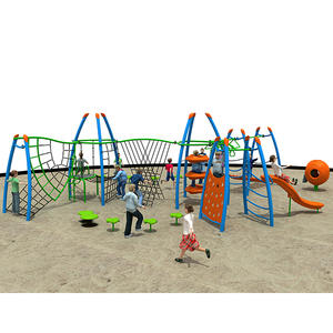 Customized good quality fitness equipment playground systems factory
