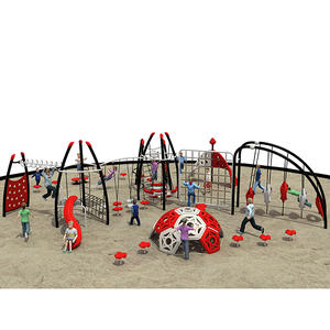 Customized good quality fitness playground manufacturer