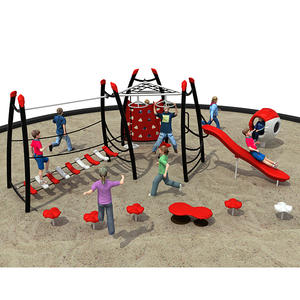 Customized good quality fitness equipment playground structure factory
