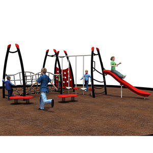 Customized good quality fitness equipment playground system factory