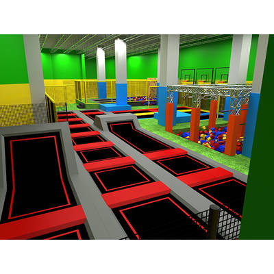 Professional Trampoline Park Equipment