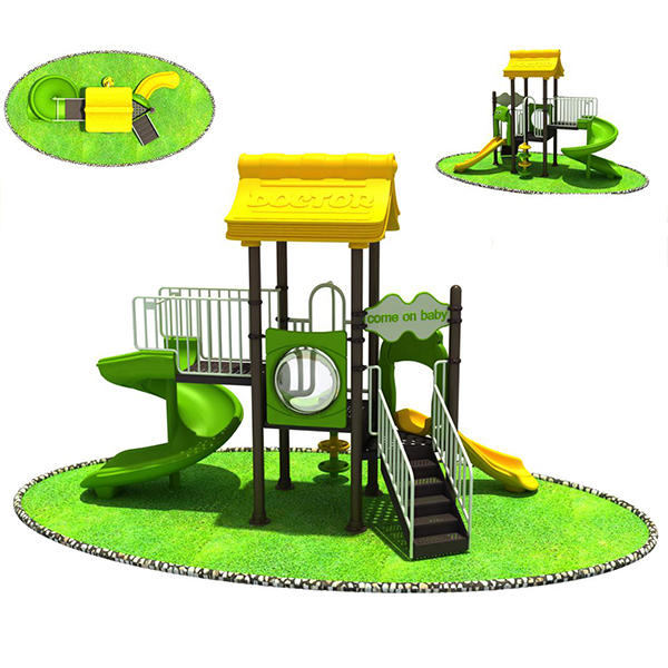 Doctor outdoor small cheap children playground equipment