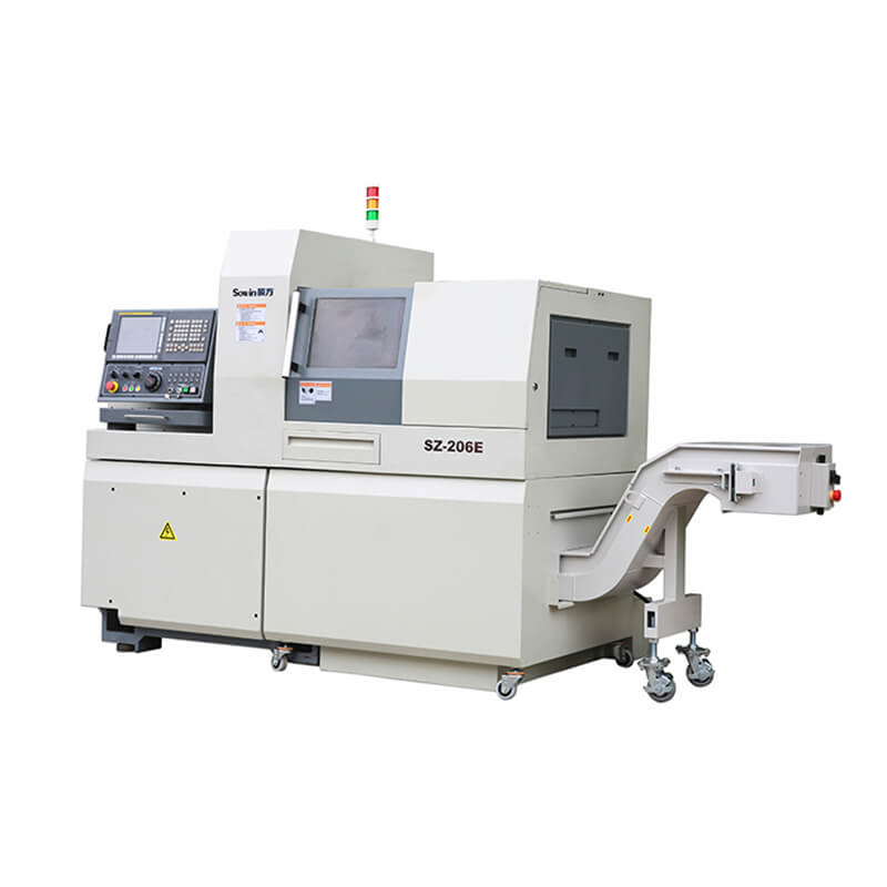 Model SZ-206E 6 axis Swiss type CNC lathe