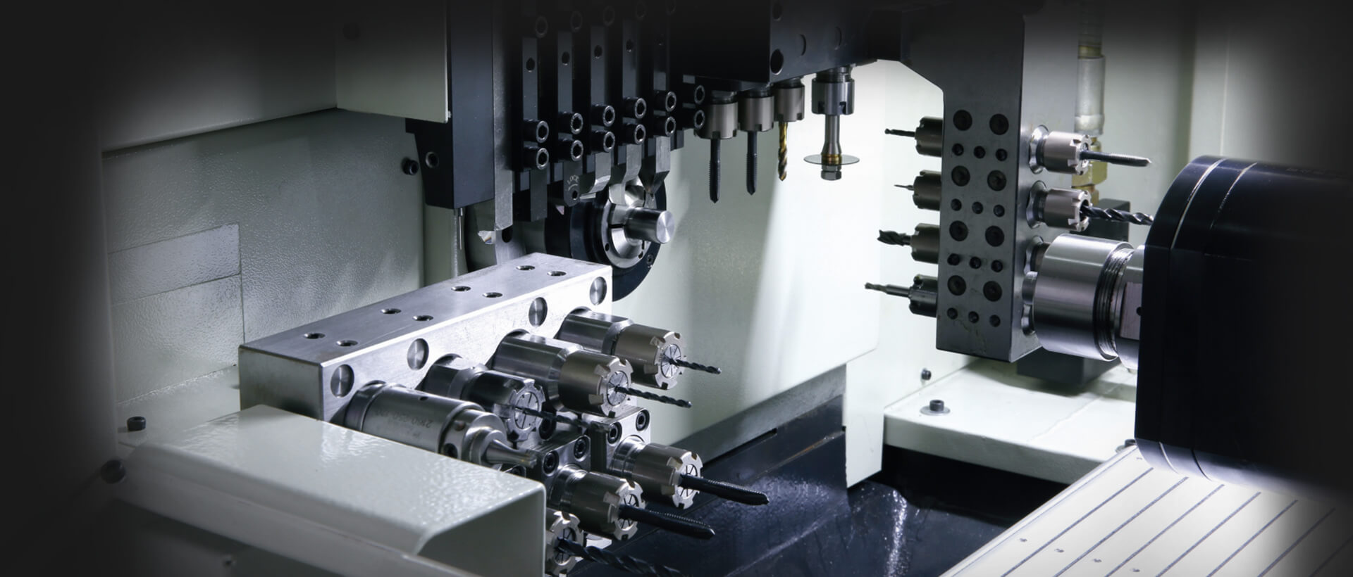 6 axis, dual spindles