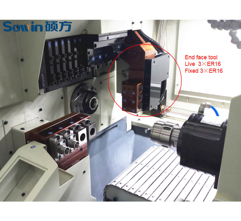 Customized CNC Swiss type lathe 4