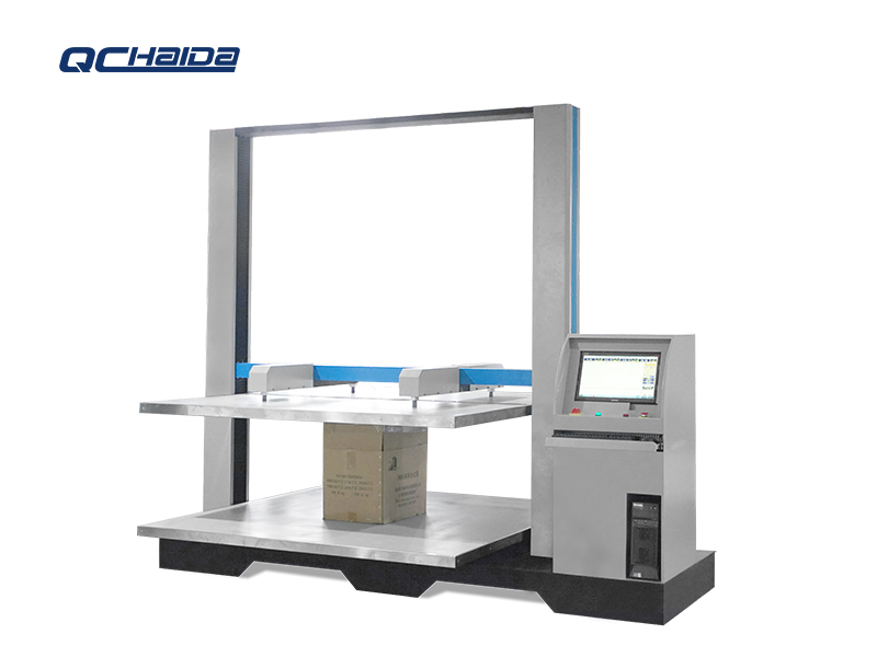 Load Cell Box Compression Test Machine
