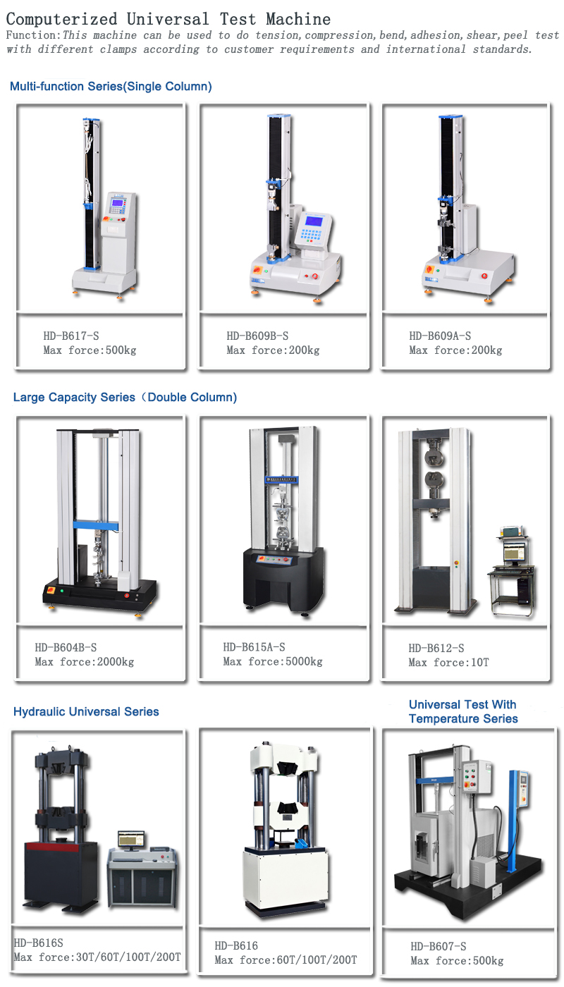 UTM Series: (10 QS)---Universal tensile test machine