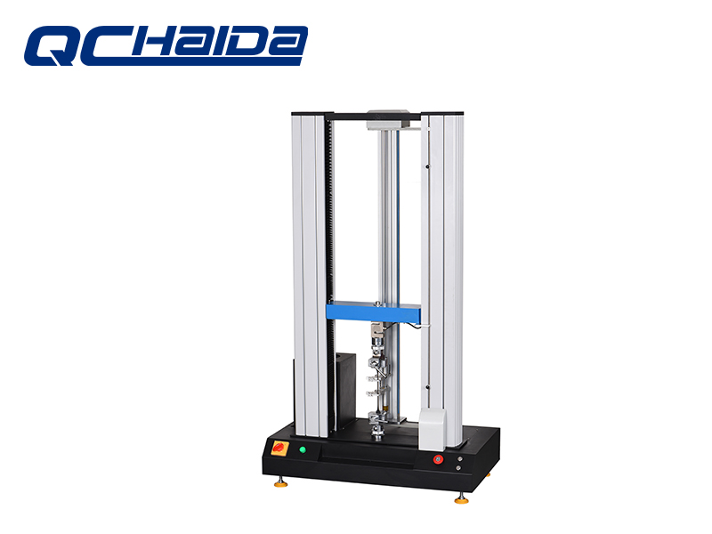 Plastic Universal Tensile Strength Test Machine Rubber Tensile Tester