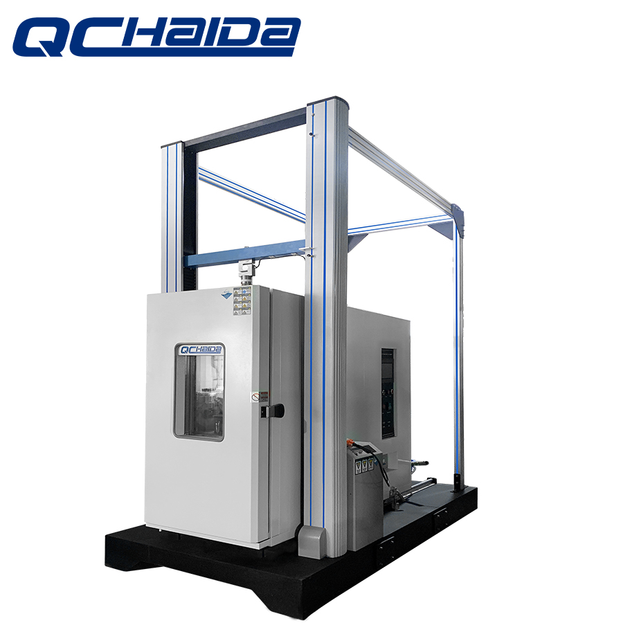 Programmable Control High-Low Temperature Tensile Strength Test Machine