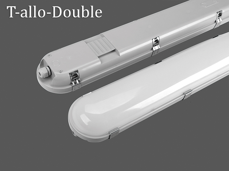 T-allo-Double  of vapor tight light led corridor lights