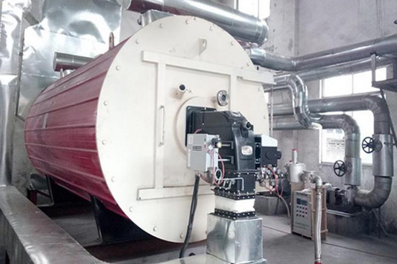 Gas-fired horizontal heat transfer industrial oil boiler in printing and dyeing industry