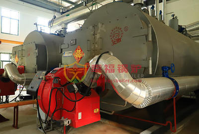 Henan Institute of Engineering WNS gas hot water boiler