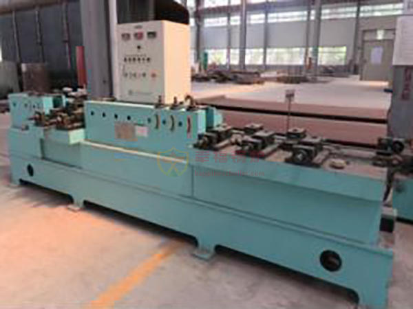 Flat steel finishing machine