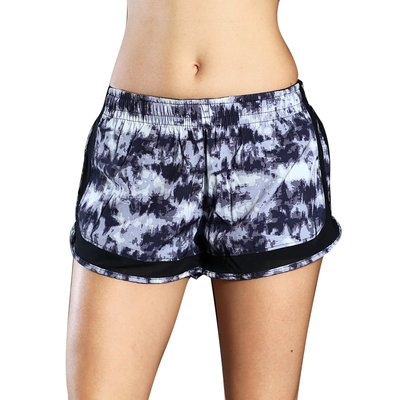 Wholesale Breathable Fashionable Yoga Shorts Printed Camo Women Shorts