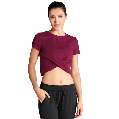 Wholesale Outdoor Sport T Shirts Slim Women's Yoga Tee Shirts