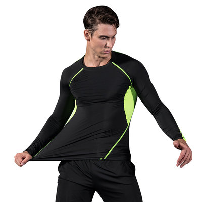 Men Long Sleeve Compression Workout Clothes T Shirts