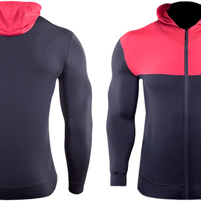 Sports Hooded Sweater Jackets
