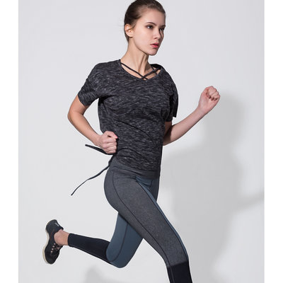 Quick Dry Gym Yoga Shirt Compression Tights