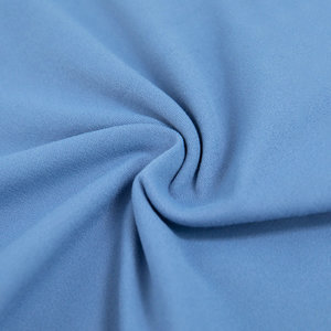 Soft brush fabric for active wear sports wear