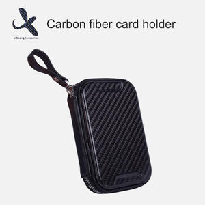 High quality Custom carbon fiber coin purse manufacturer