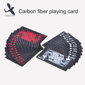 High quality carbon fiber playing card design manufacturer