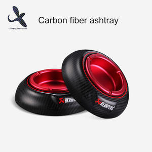 High quality Carbon Fiber Metal Ashtray price manufacturer