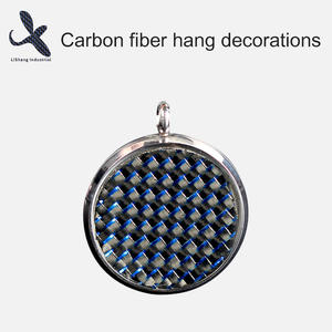 High quality Carbon Fiber Keychain decorations factory