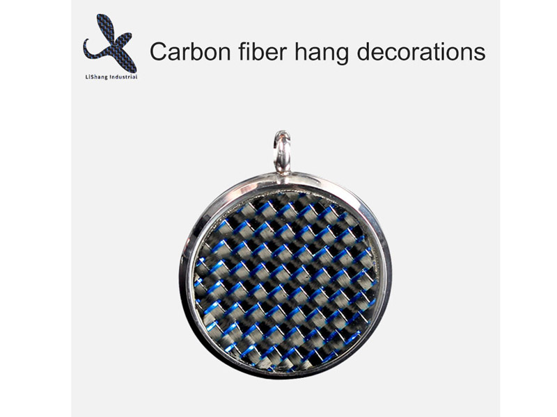 Carbon Fiber Hang Decorations