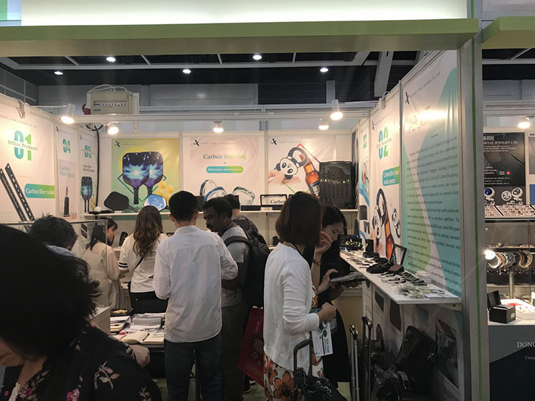 Carbon Fiber Gifts Debut in Hong Kong Gifts & Premium Fair