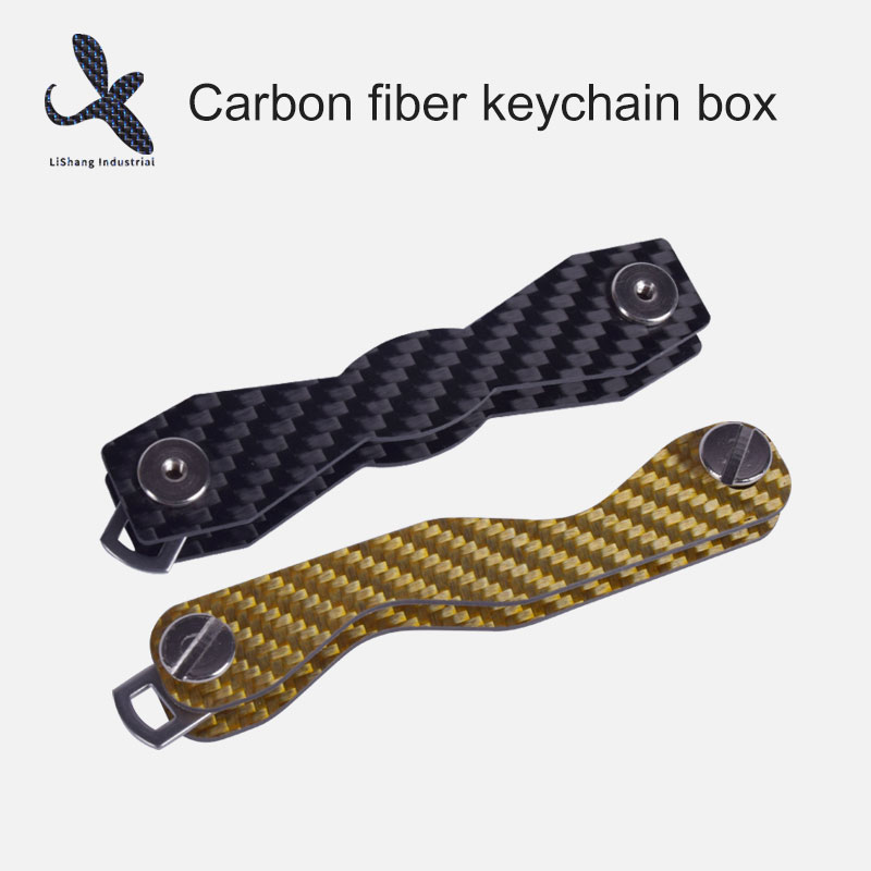 Swiss army knife in the key world--carbon fiber key holder