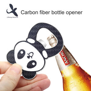Custom  bottle opener factory Carbon fiber bottle opener
