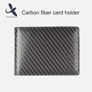 High quality  carbon fiber card holder