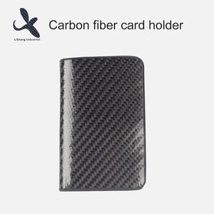 High quality Custom OEM carbon fiber card holder manufacturer