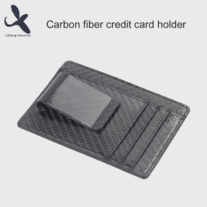 High quality Custom OEM carbon fiber credit card holder manufacturer